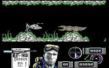 Navy Moves Commodore 64 You have almost made it to the submarine but a sea monster is blocking your way. Kill it before it eats up the ship.