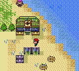 Legend of the River King 2 Game Boy Color The beach
