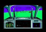 Strike Force Harrier Amstrad CPC Targeting a tank.