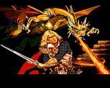 Pool of Radiance Amiga Title picture