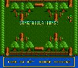 Tricky Kick TurboGrafx-16 Oberon has completed the first level