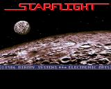 Starflight Amiga Title screen
