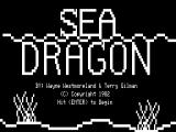 Sea Dragon TRS-80 Title screen