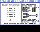 Starflight Amiga Outfitting the ship