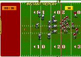 Joe Montana II: Sports Talk Football Genesis The game features instant replay.