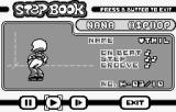 wuz↑b? Produce: Street Dancer WonderSwan Step book, look at all the moves you've unlocked.