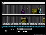 Wrath of the Black Manta NES Ducking bullets
