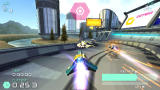 WipEout Pulse PSP About to drop a bomb.
