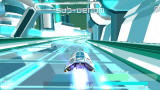 WipEout Pulse PSP A Zone race