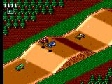 Buggy Run SEGA Master System Jump in the beginner track 1