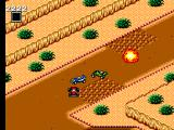 Buggy Run SEGA Master System Buggy hitting my mine as we all navigate around the bumps on beginner track 3