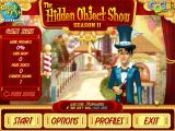 The Hidden Object Show: Season 2 Windows Main menu
