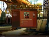 Sid Meier's Civilization IV: Colonization Windows Choosing your character.