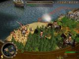 Sid Meier's Civilization IV: Colonization Windows Attacking a native village.