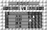 Fire Pro Wrestling WonderSwan The rankings change to reflect that for this season.