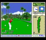 True Golf Classics: Waialae Country Club SNES Taking the swing