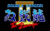 Double Dragon II: The Revenge Atari ST Title screen
