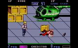 Double Dragon II: The Revenge Atari ST One enemy down