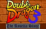 Double Dragon III: The Sacred Stones Atari ST Title screen