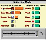 SimEarth: The Living Planet SNES Civilization models