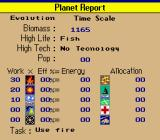 SimEarth: The Living Planet SNES Planet report