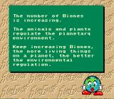 SimEarth: The Living Planet SNES Advice from the planet