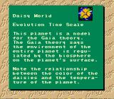 SimEarth: The Living Planet SNES The daisy world