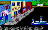 Donald Duck's Playground Atari ST You can shop in these three shops