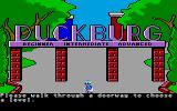 Donald Duck's Playground Atari ST Select difficulty