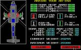 Gunship Atari ST Setting up your weapons and equipment