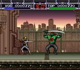X-Kaliber 2097 SNES A boss battle