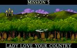 Cannon Fodder 2 DOS Lady Love Your Country