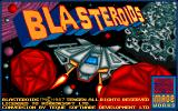 Blasteroids Amiga Title screen