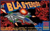 Blasteroids Amiga Another title screen