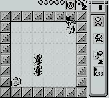 Stop That Roach! Game Boy Starting the first level