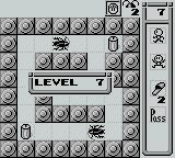 Stop That Roach! Game Boy The levels' complexity ramps up quickly.