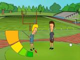 "MTV's Beavis and Butt-Head: Do U. Windows ""Hey Butthead watch!  Bunghole in one!""  ""Beavis you dumbass.  That's our other game"""
