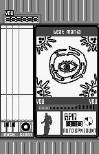 beatmania for WonderSwan WonderSwan Ambient Eye background