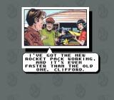 The Rocketeer SNES The story is given in comic book style cut-scenes.