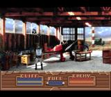 The Rocketeer SNES Shootout at the hangar