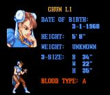 Street Fighter II SNES Character info for the deadliest chick on the block: Chun Li