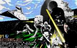 Star Wars: Return of the Jedi Amiga Title screen