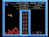 Tetris NES One player mode (Tengen release)