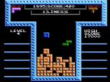 Tetris NES Two player cooperative mode (Tengen release)