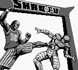 Shaq Fu Game Boy Title screen