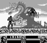 Shaq Fu Game Boy Monster leaps in a clumsy, but effective, way.