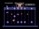 Donkey Kong Classics NES Push the keys to the top (Donkey Kong Jr.)