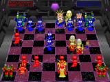 Battle Chess 4000 DOS Bishop shrinks Queen (SVGA).