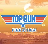 Top Gun: Firestorm Game Boy Color Title (from cinematic)