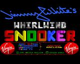Jimmy White's 'Whirlwind' Snooker Amiga Title screen